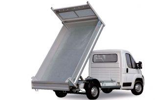 sur Citroën Jumper avec ridelles aluminium