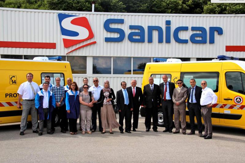 Ambulance Algérie Sanicar DGPC GRUAU PETIT