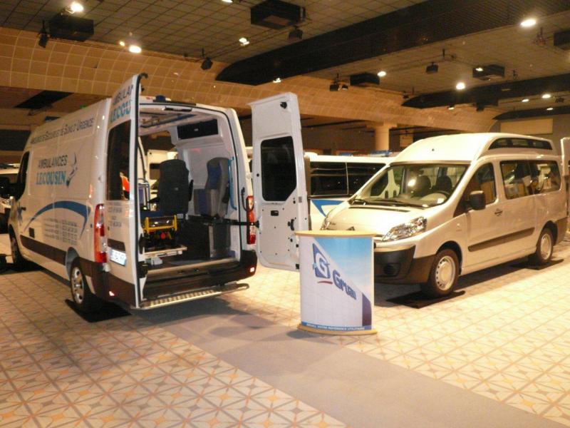 Le Groupe GRUAU présent au salon national de l'ambulancier