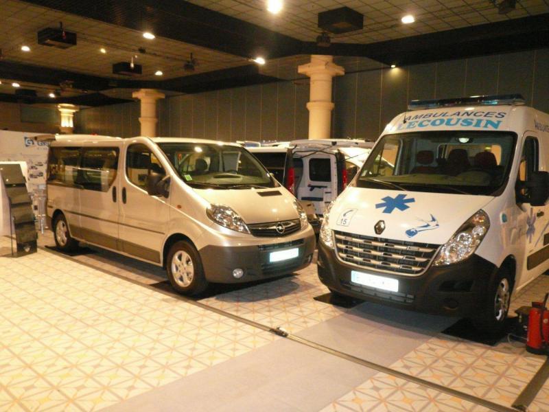 Groupe GRUAU au Salon National de l'Ambulancier