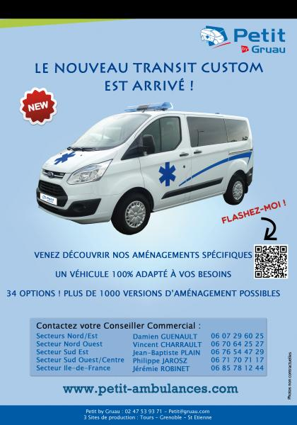 Lancement Ford Transit Custom