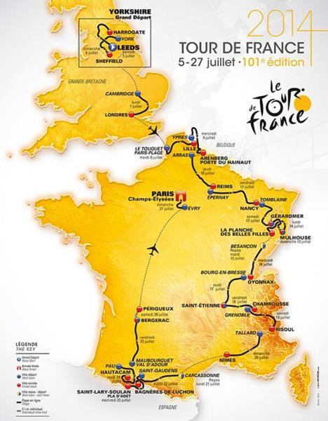 Tour de France 2014 Petit Ambulance Gruau