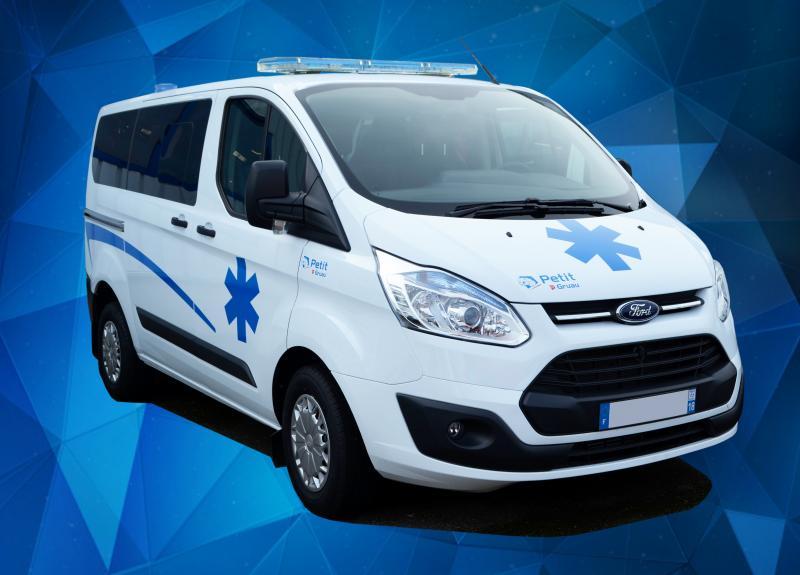 ambulance Ford Transit Petit by Gruau