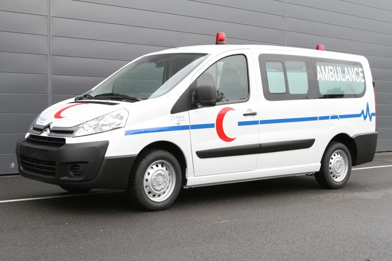 Ambulance Export Algérie Petit by Gruau