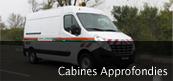 Véhicule de liaison chantier / Cabine approfondie Gruau BTP