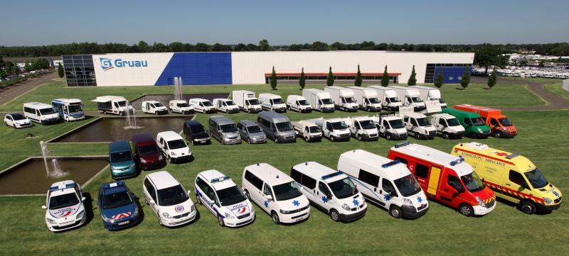 Gamme de véhicules Groupe Gruau