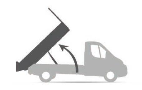 Benne configuration Transporteur Basculement arrière