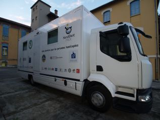 Cabinet dentaire mobile