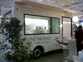 Bureau mobile am�nagement int�rieur