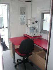 V�hicule m�dical - Ophtalmologie - Am�nagement int�rieur
