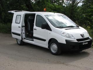 V�hicule de liaison - Cabine Repli-Cab - Gruau BTP