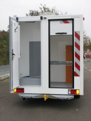 Amenagement Vehicule Ravitailleurs Bases Vie - VU Pocket Gruau BTP
