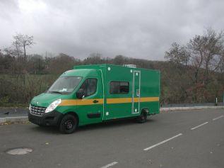 Vehicule Ravitailleurs Bases Vie - VU Pocket Gruau BTP